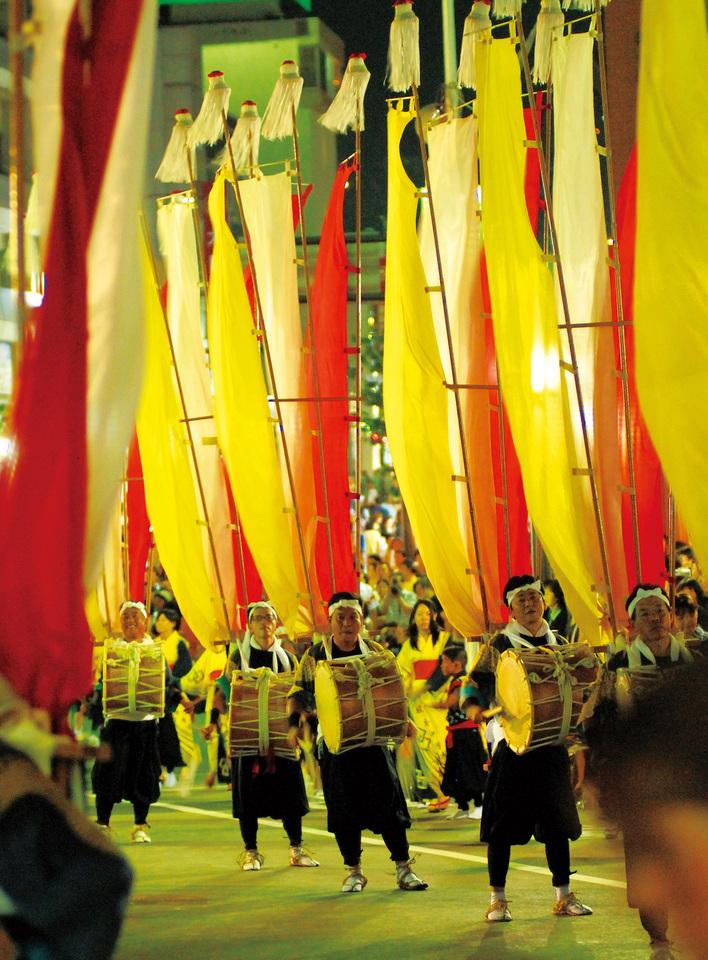 中津川夏祭りおいでん祭「風流おどり」