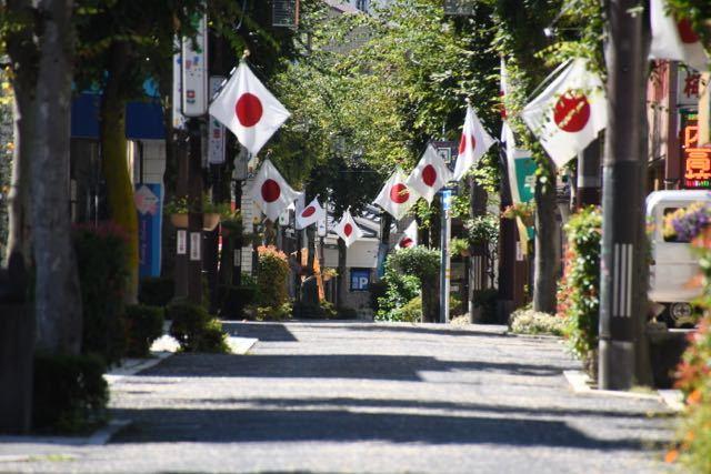 中津川日の丸商店街 9月16日 敬老の日