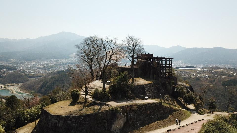 絶景山城日本一苗木城跡は、只今桜満開‼︎
