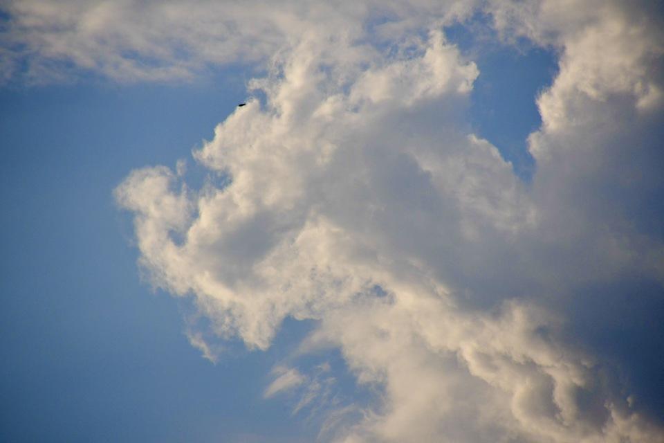 恵那山麓の風景 龍雲現る‼︎吉祥か?
