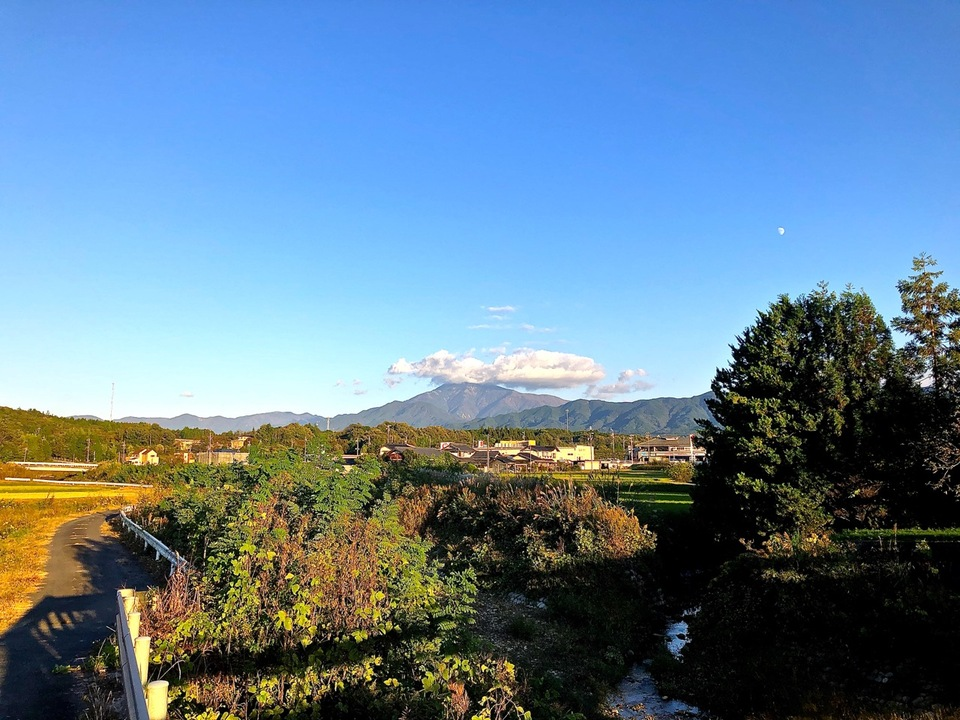 恵那山上空の巨大な龍、ファルコンだ‼︎ border=