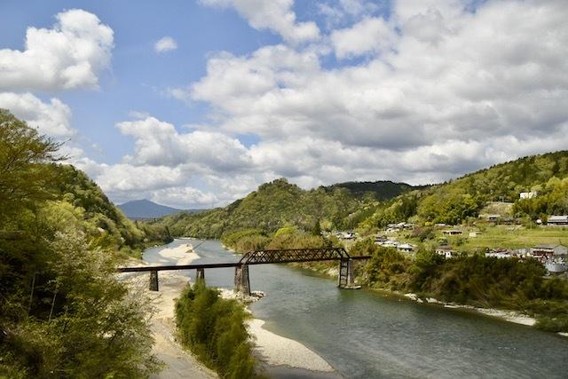 木曽川と奇跡の鉄橋、北恵那鉄橋