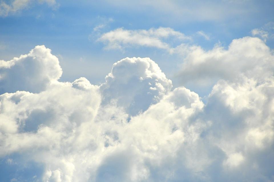 出ました入道雲。 border=