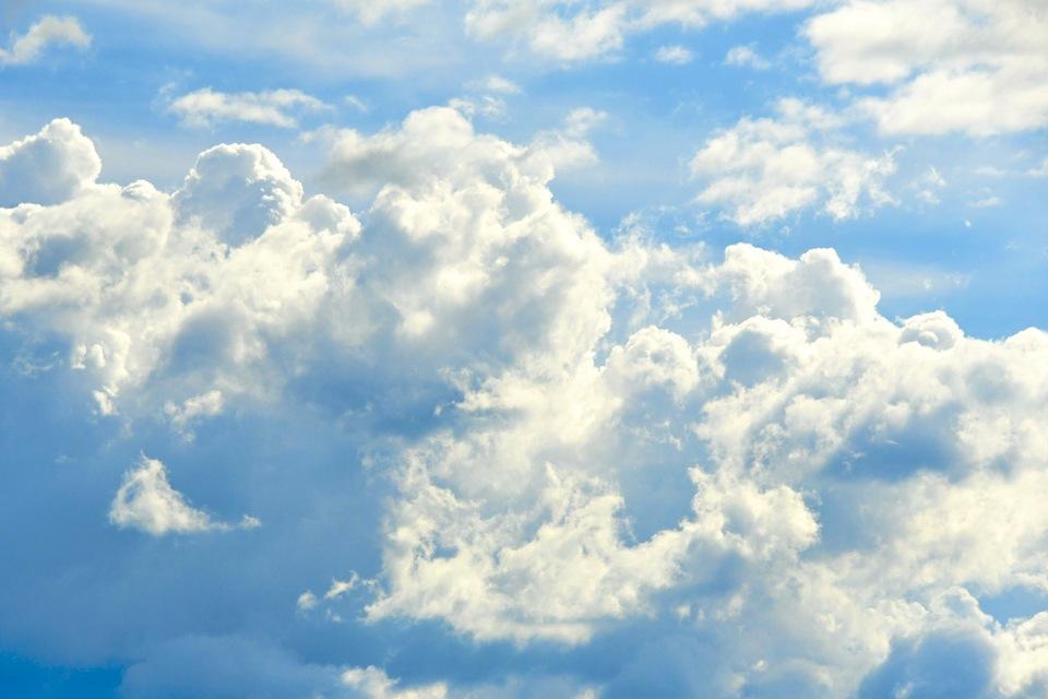 出ました入道雲。