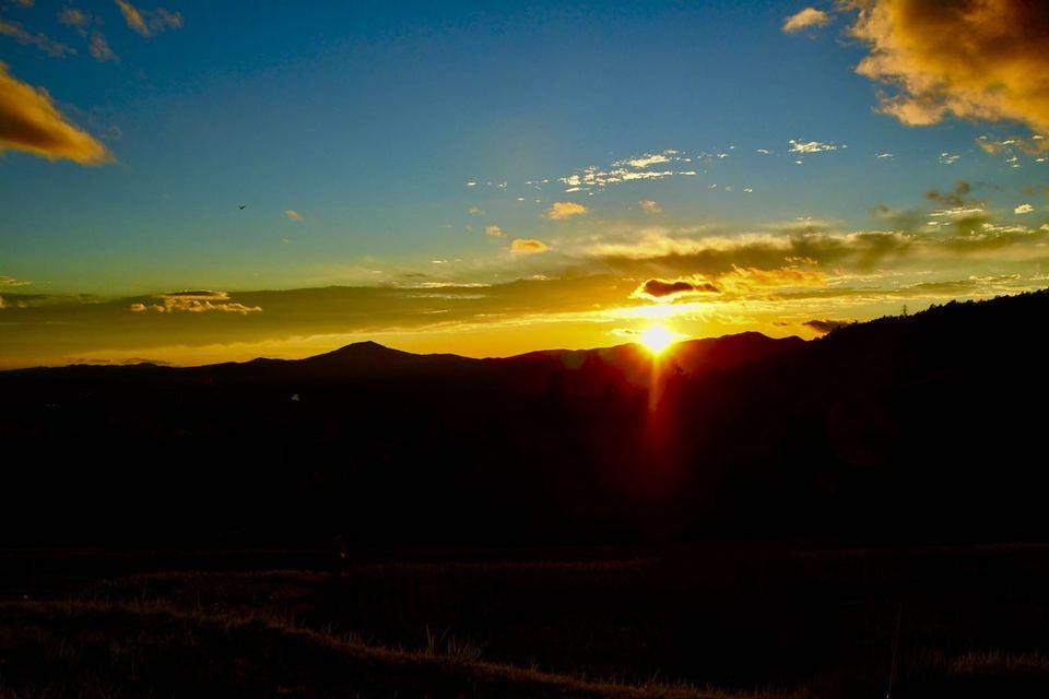 ふぅ〜ッと、タメイキの出る夕焼け風景。