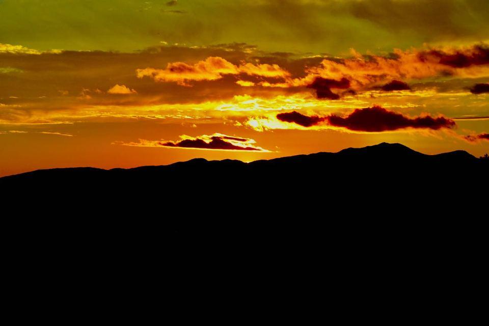 日没後の黄昏の時間