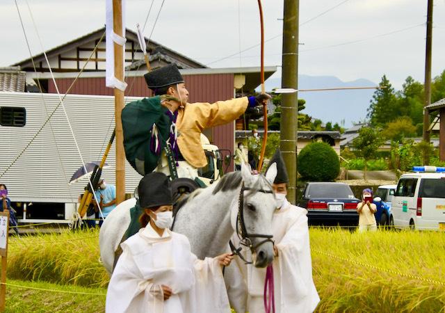 苗木神明神社 流鏑馬(やぶさめ)の儀
