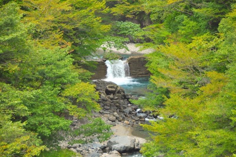 秋の気配へ,付知峡本谷
