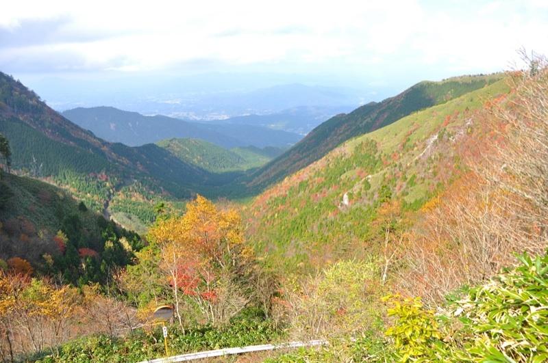 絶景!富士見台高原の紅葉。標高1000~1400付近 border=