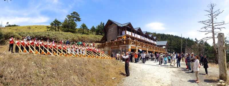 恵那山・富士見台山開き Iphone panorama