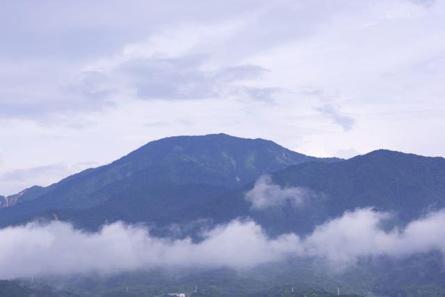 なんと!十日ぶりの恵那山