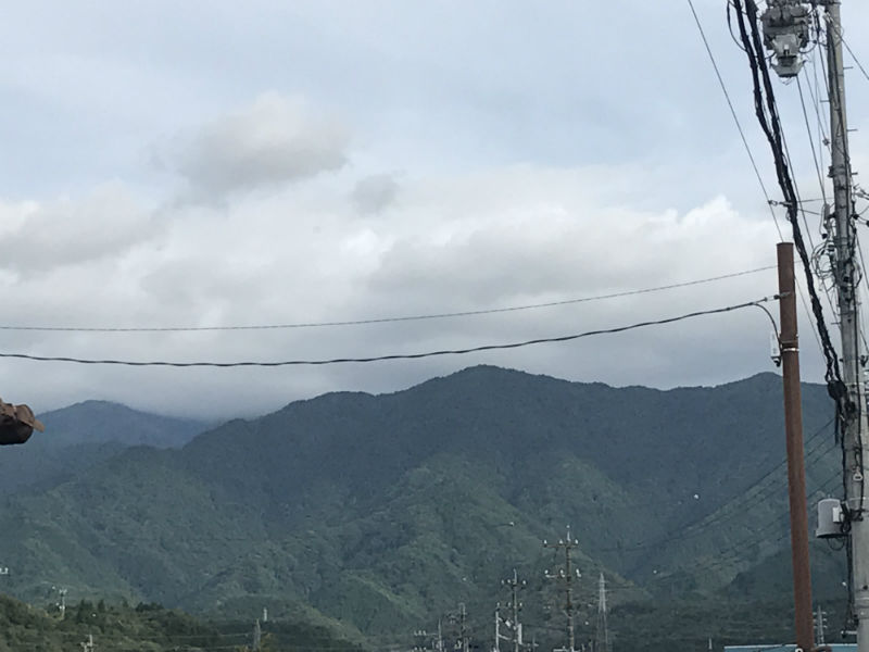 秋の恵那山