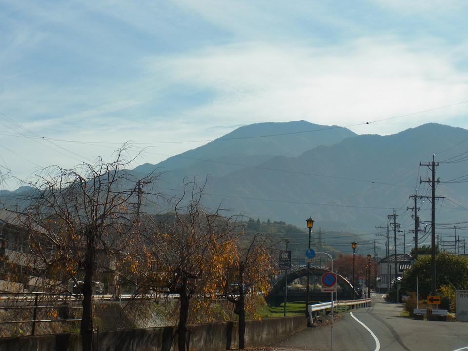 小春日和の恵那山