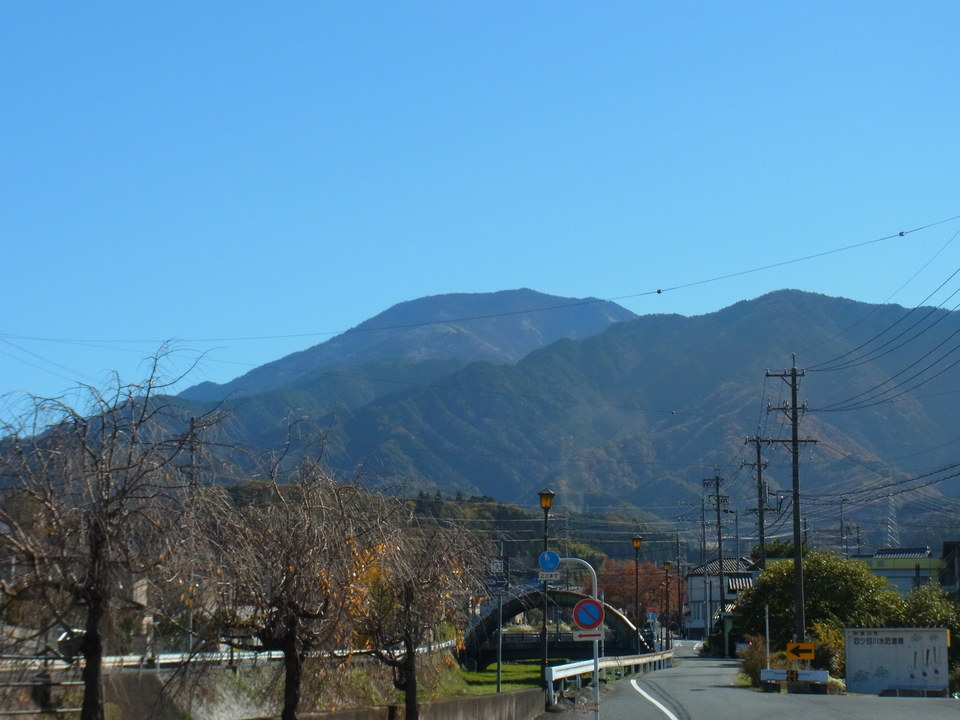 秋天と恵那山