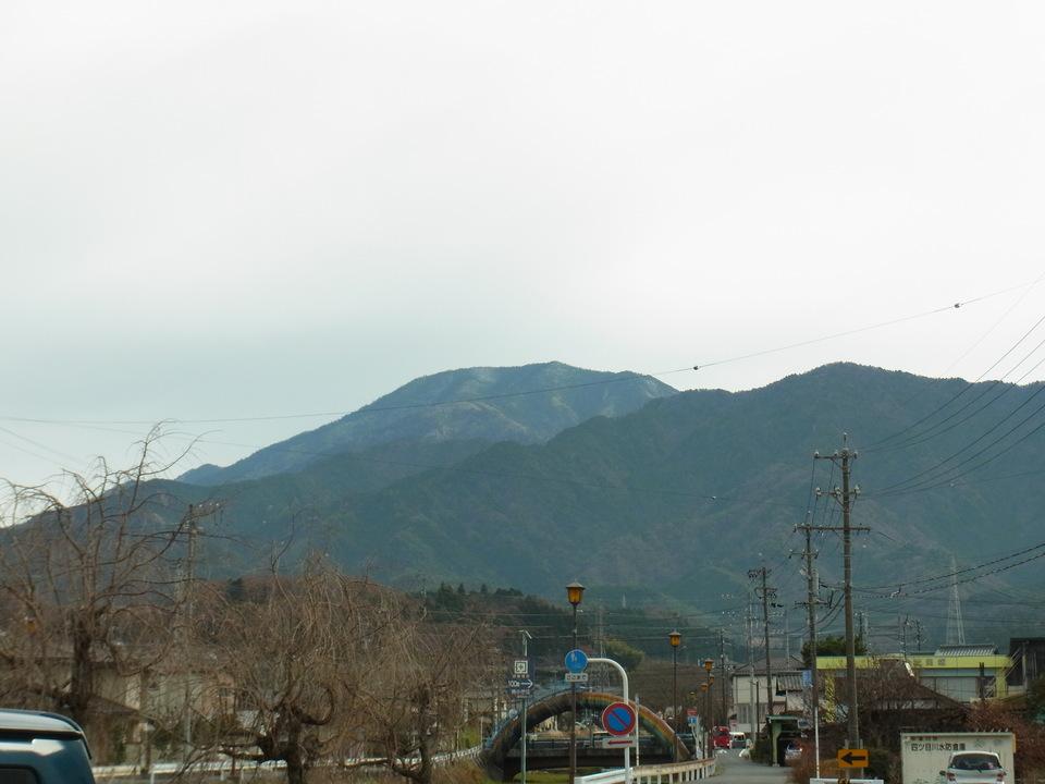 寒い日の恵那山 border=