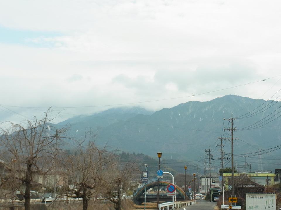 1月最後の恵那山