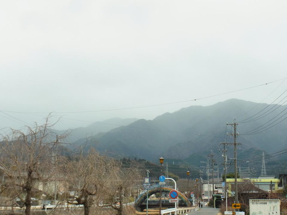 恵那山は見えません