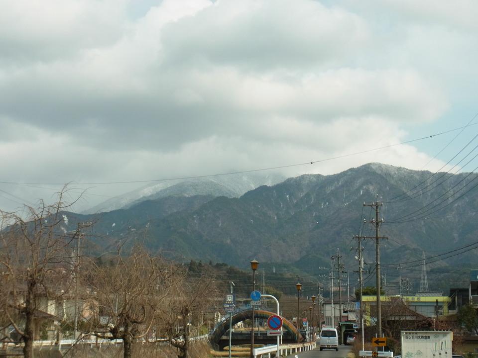 ホワイトな恵那山