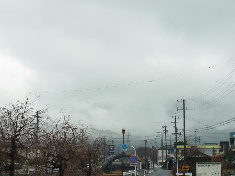 春分の日の恵那山