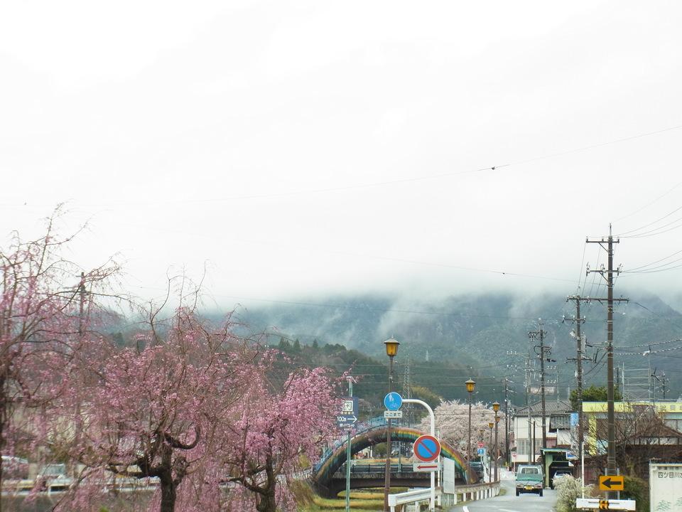 4月のとっても寒い日