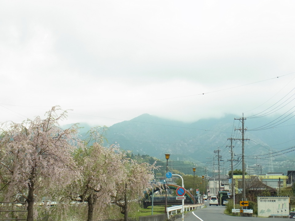 今日も恵那山は雲の中
