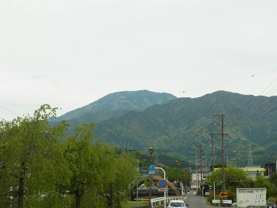 恵那山がきれいに見えます