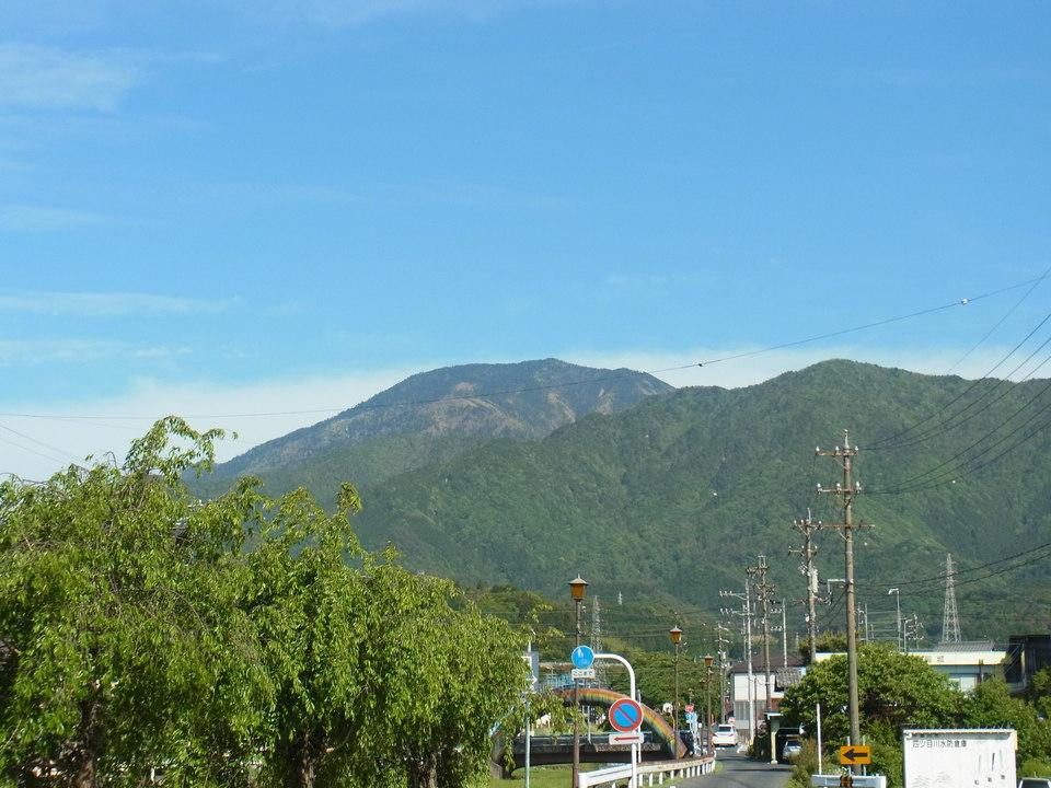 とってもいい天気の恵那山