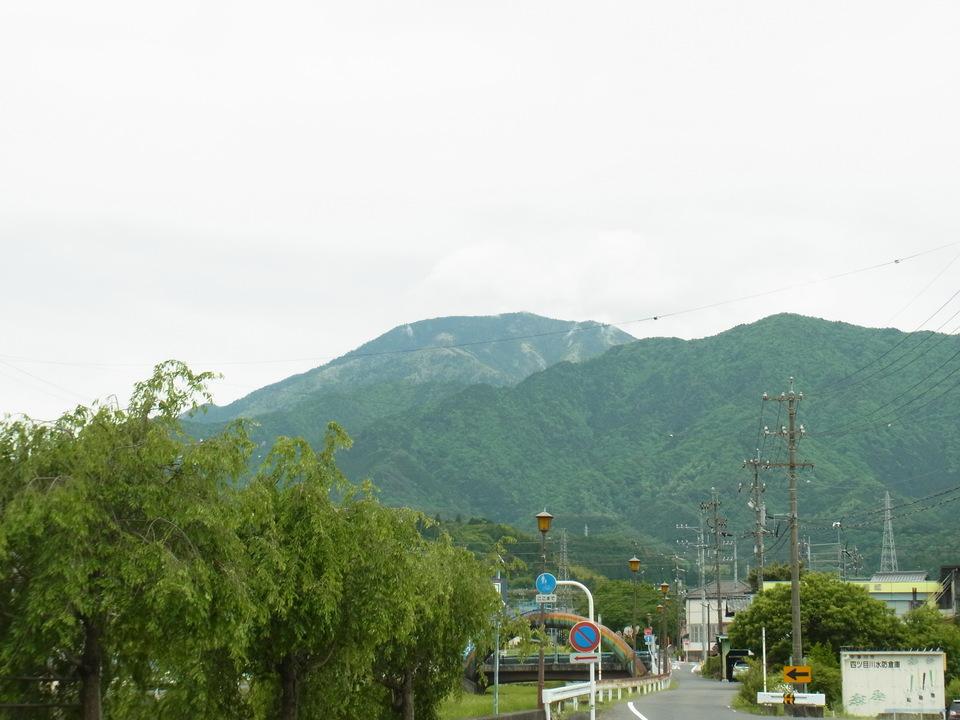 雨上がりの恵那山