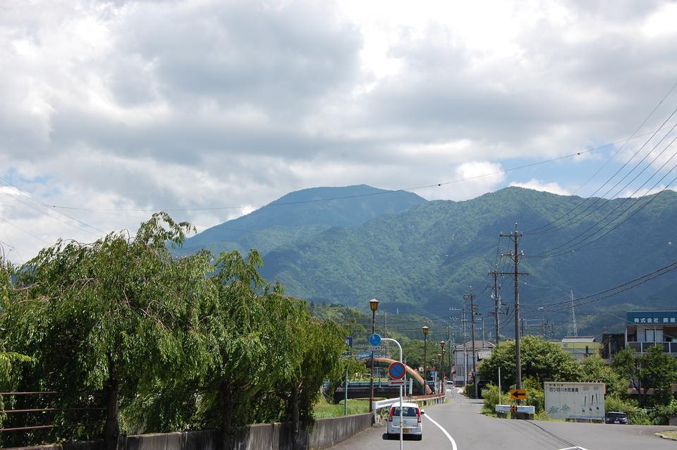 恵那山が見えたのは嬉しいが...