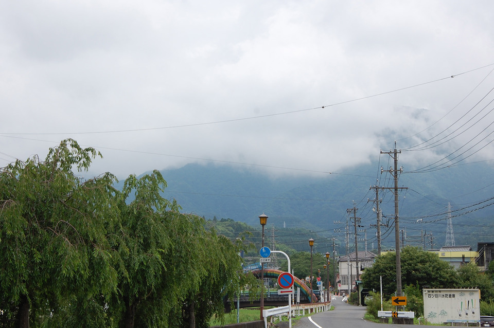 7月最初の恵那山