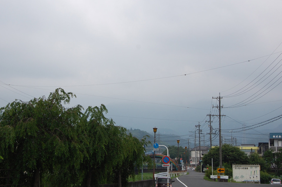 真っ白な山並み