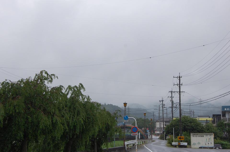 しとしと雨が降っている日
