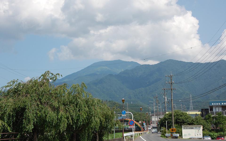 久しぶりの恵那山