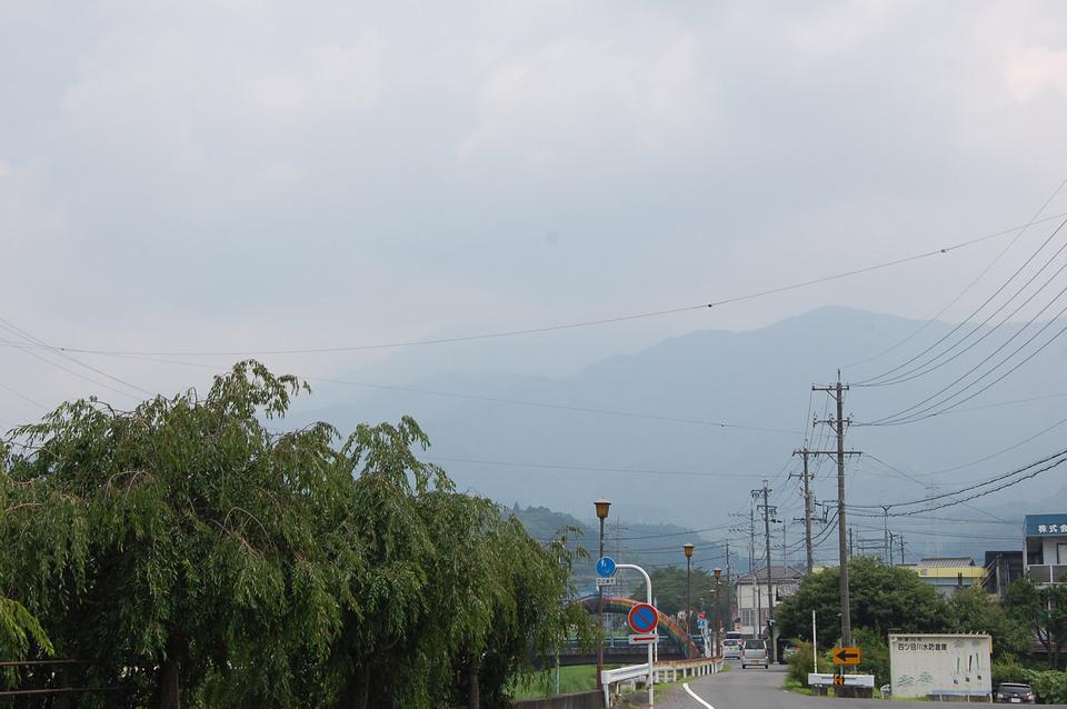 梅雨明け後の恵那山