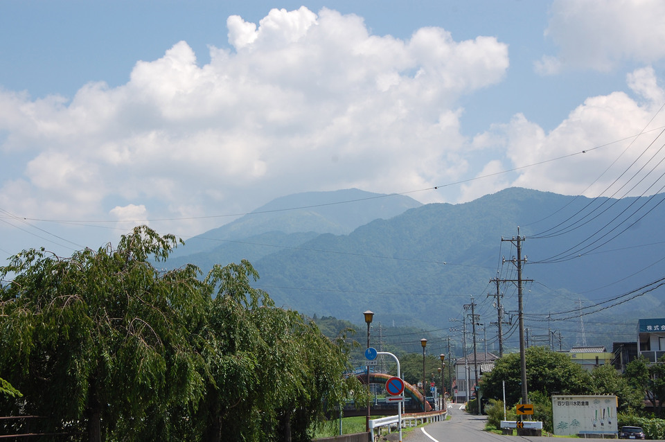 7月最後の恵那山
