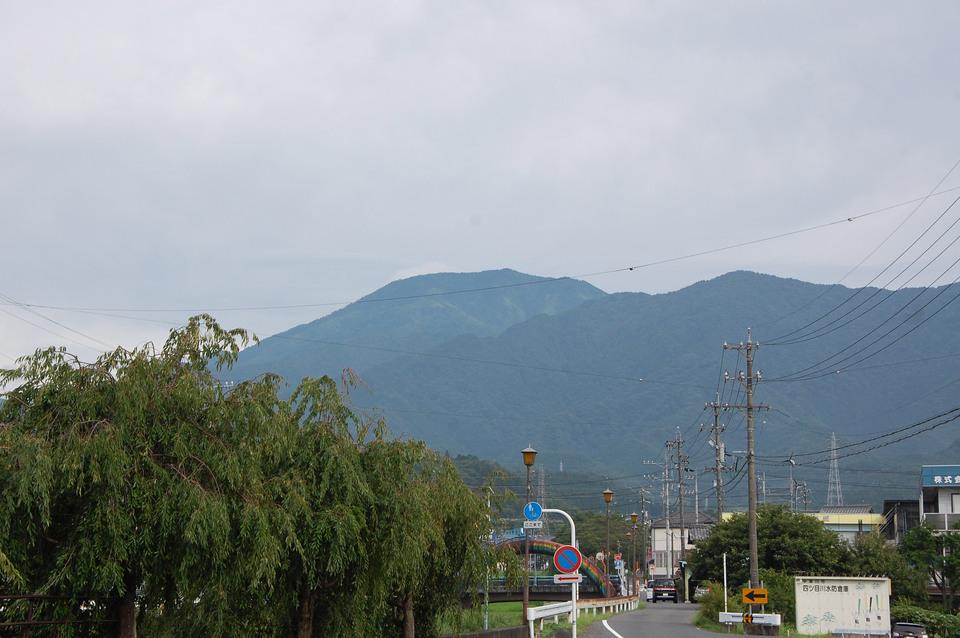 久々に恵那山がきれいに見えました