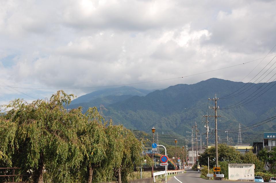 9月最後の今日の恵那山