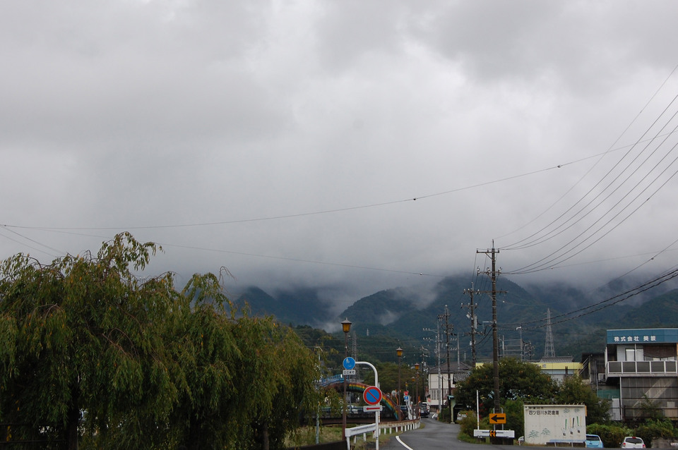 雨上がりの恵那山 border=