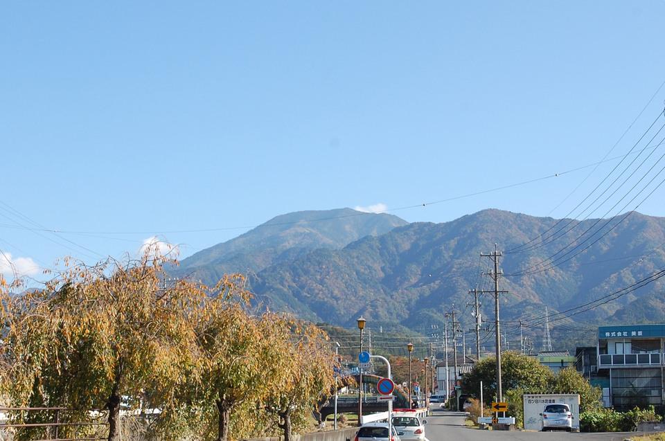 立冬の恵那山