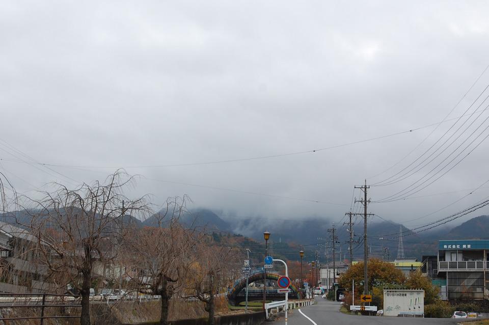 恵那山方面は真っ白です