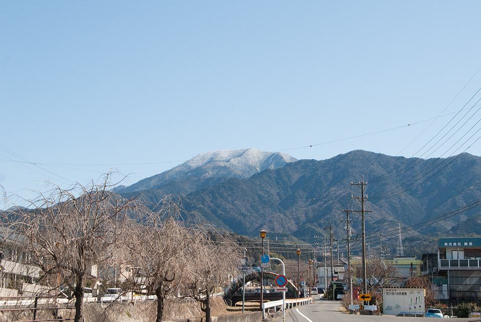 恵那山がとてもきれい