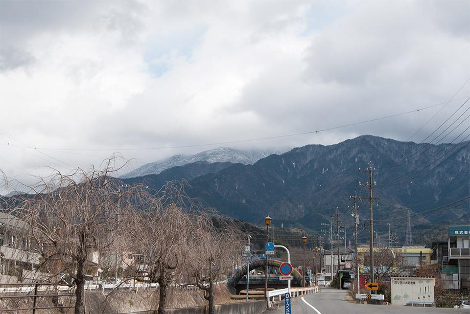 雪化粧の恵那山、復活! border=