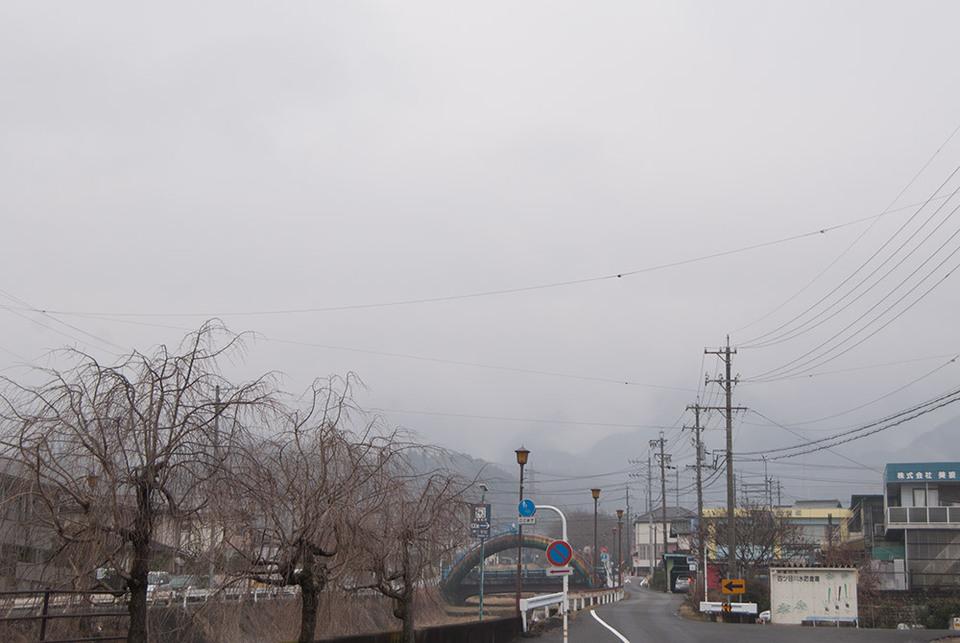 小雨が降っていました border=