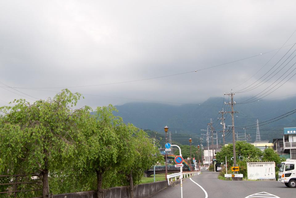 恵那山は雲の中