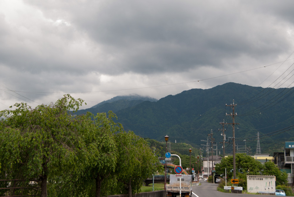 寒〜い日の恵那山