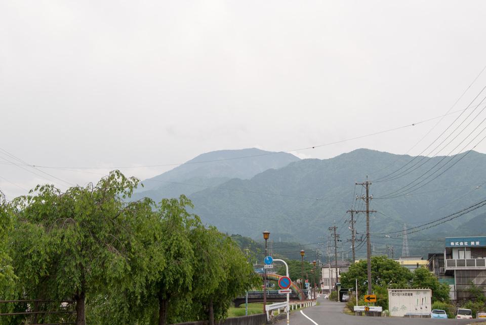 恵那山は稜線だけ