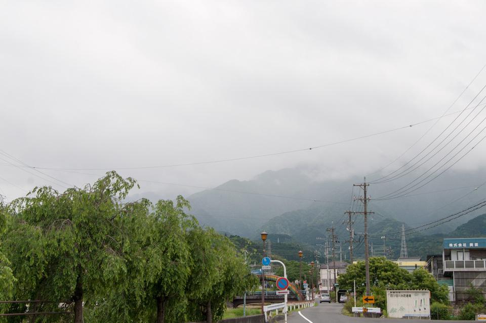 6月最初の恵那山は雲の中