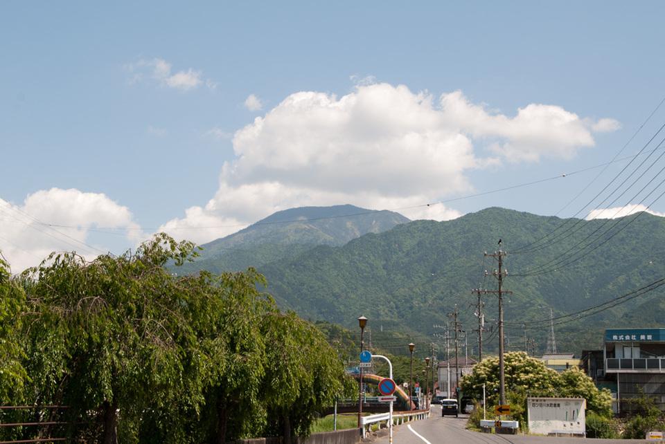 恵那山はきれいに見えています border=