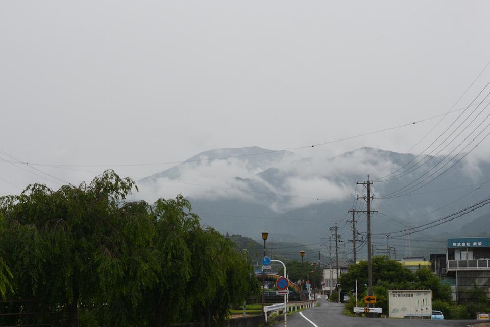 雨でも久々の恵那山!