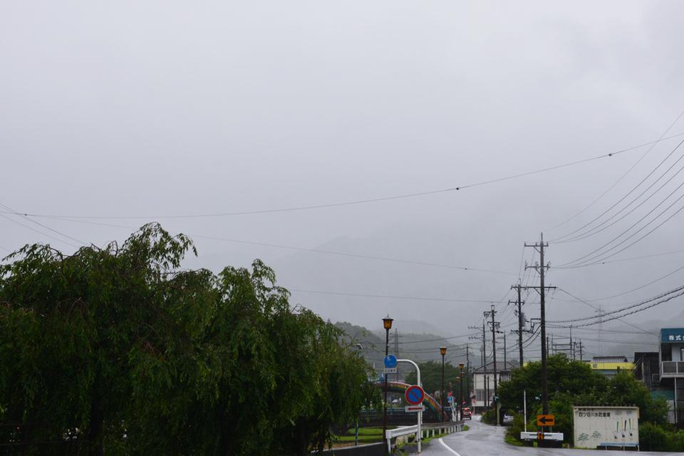 台風のような悪天候